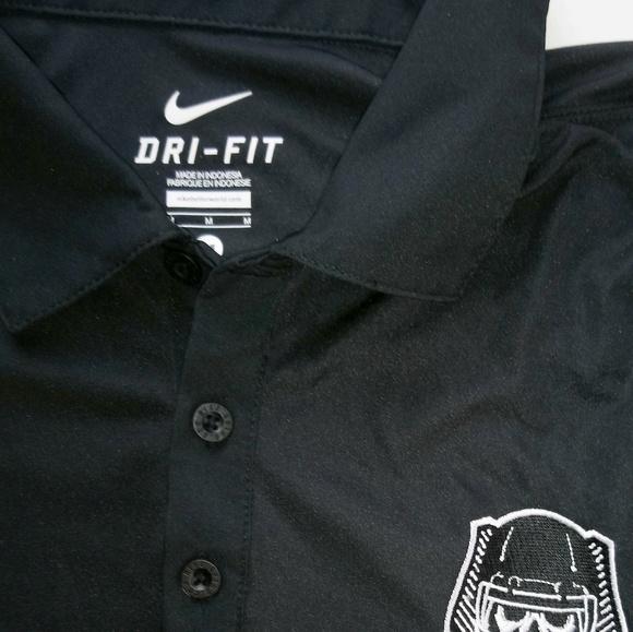 official photos 812d7 7fedf Oakland Raiders Nike Dri-FIT Polo medium Men's